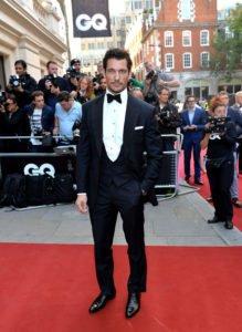 David gandy Black Tie