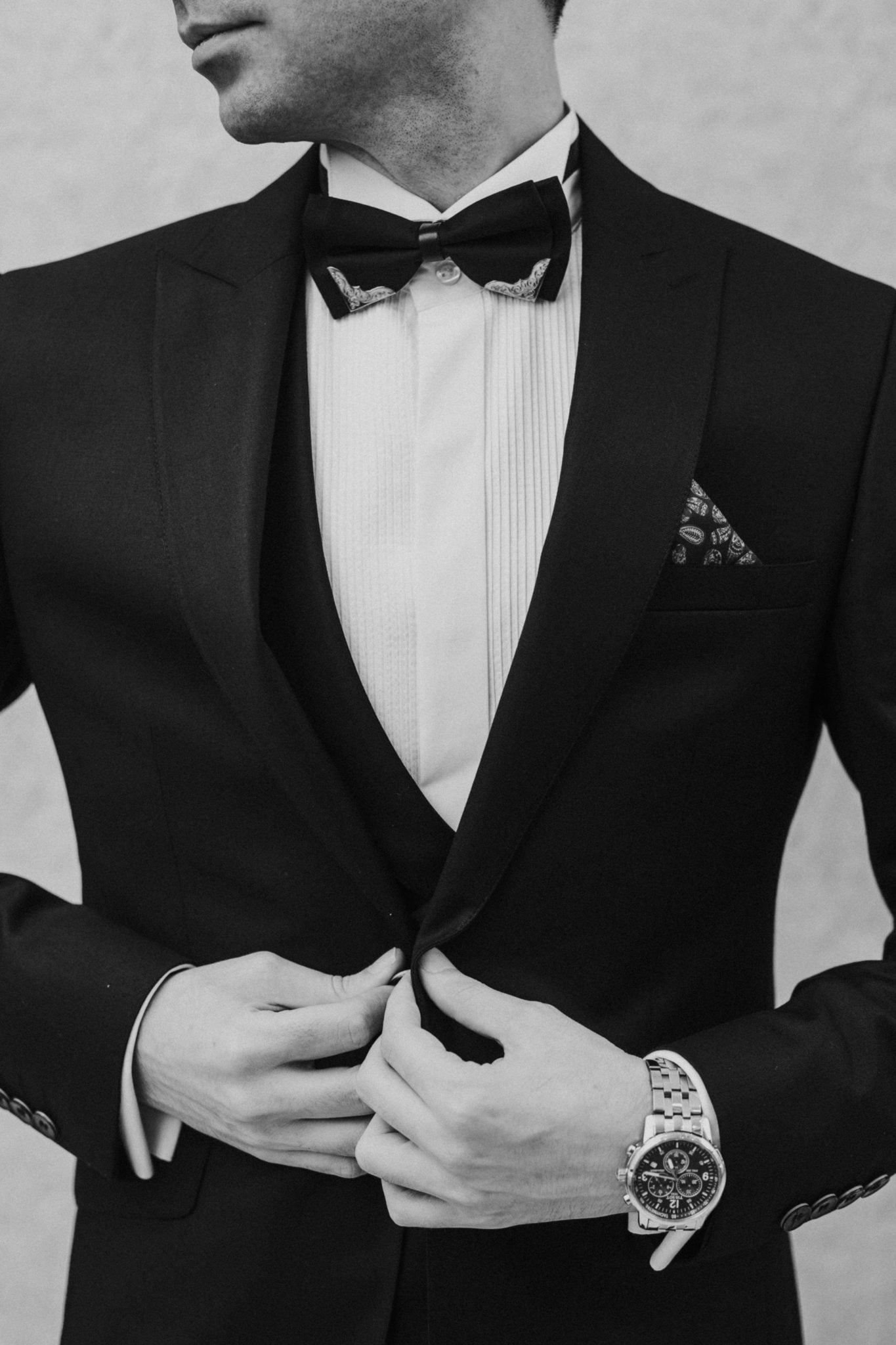 Formal Wear Black Suit