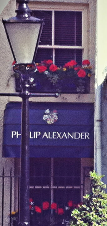 Phillip Alexander in Wilmslow - Bespoke Tailor Luxury Suits for Men - Shop Front