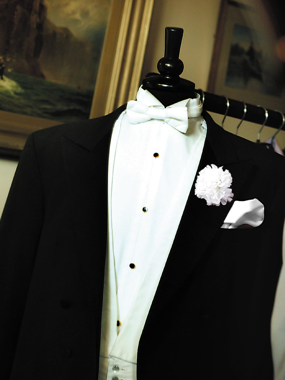 White Tie Tuxedo Formal Wear Bespoke Suit Savile Row Tailor, London and Cheshire